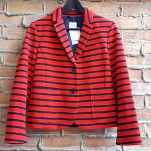 NWT Gap Academy Blazer Red Stripe
